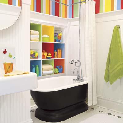 child friendly bathroom Creating a Kid-Friendly Bath   Light and Bright Kids' Bath