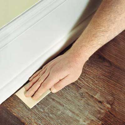 Prep the Perimeter  How to Refinish Wood Floors  This Old House