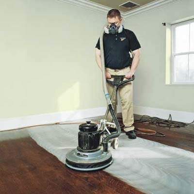 Scuffsand the Finish  How to Refinish Wood Floors  This