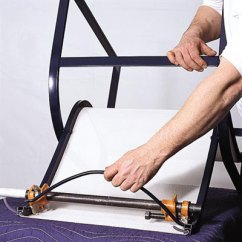 Patio Chair Replacement Vinyl Straps Target Club Reattach The Spreader Bar | How To Repair Aluminum Chairs This Old House