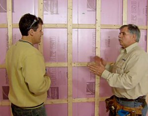 Insulating Garage Doors With Styrofoam Panels