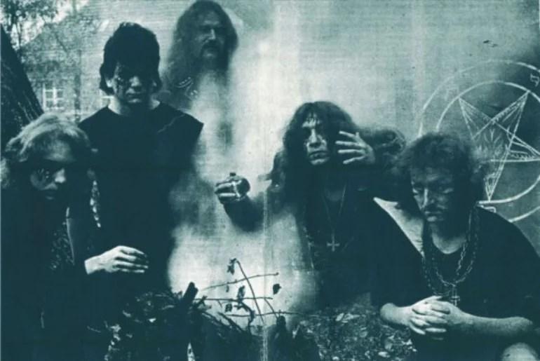 Master's Hammer zu Ritual-Zeiten; v.l.n.r.: Valenta, Monster, Silenthell, Necrocock, Storm / Pic: last.fm