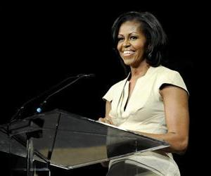 First lady Michelle Obama gives the keynote address to the African Methodist Episcopal Church general conference, Thursday, June 23, 2012, in Nashville, Tenn.