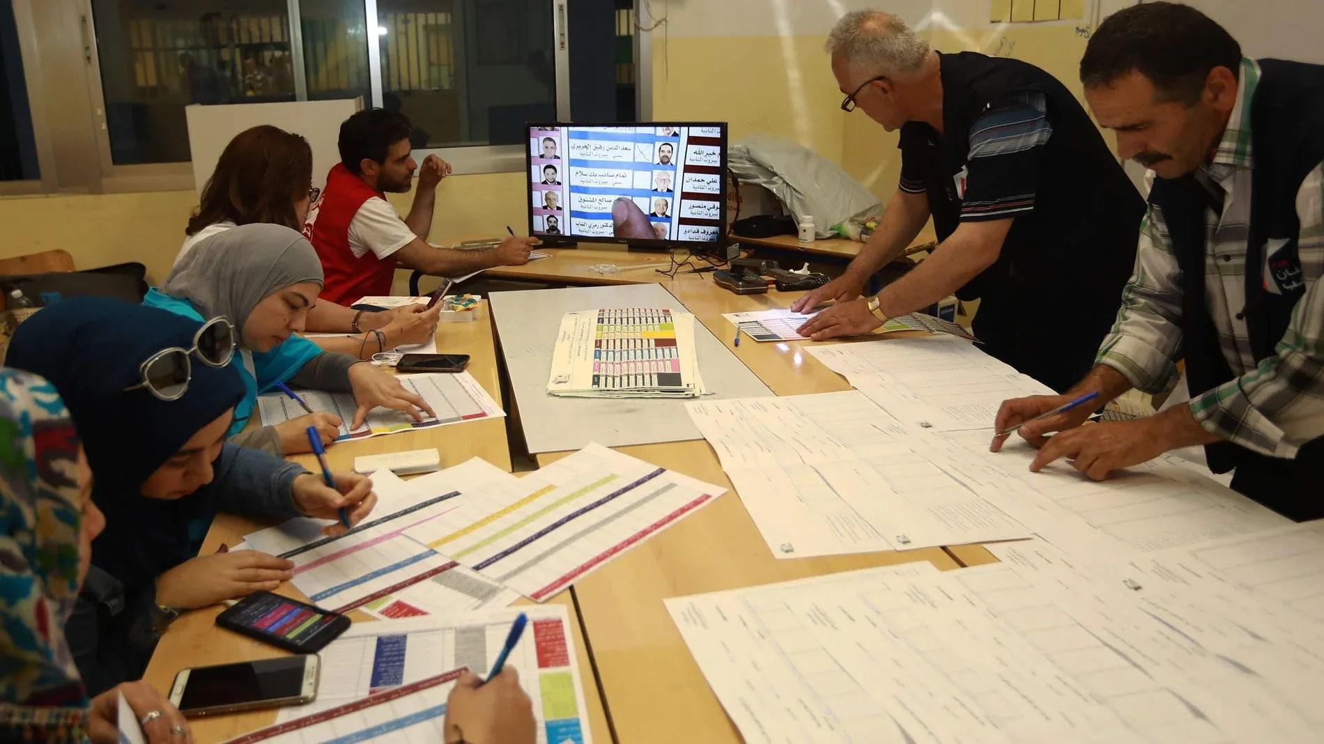 La baja participación marca las primeras elecciones parlamentarias en Líbano en nueve años