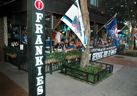 Watch Football Games At Frankies Sports Bar And Grill