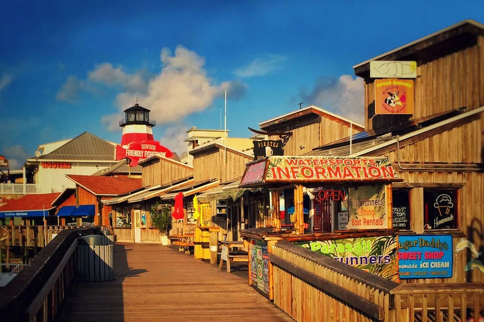 Johns Pass Village And Boardwalk St Petersburg