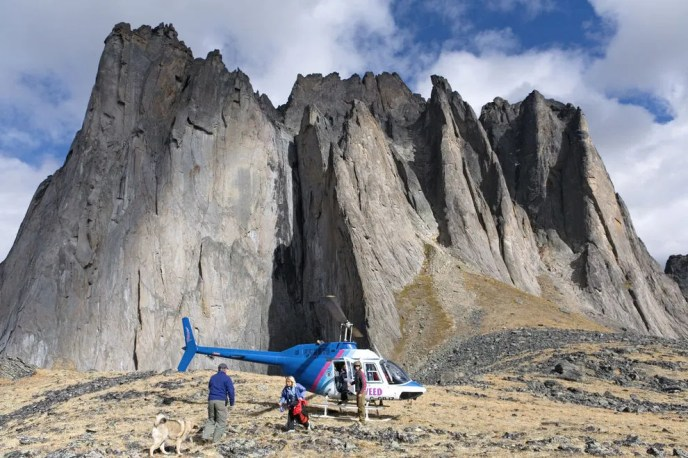 Visitors and locals savor the magnificence of Tombstone Territorial Park