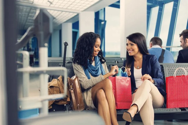 These airports, chosen for their stellar shopping, almost double as malls