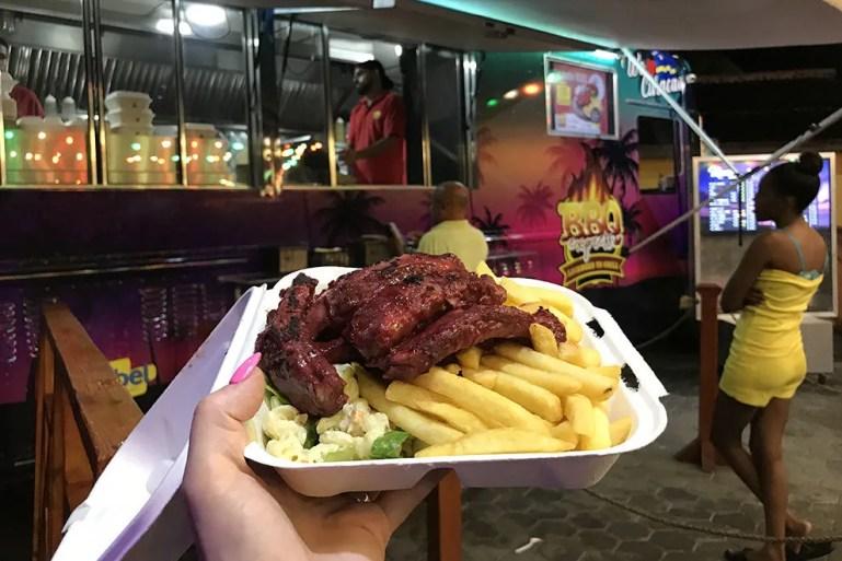 BBQ Express fills bellies after dark