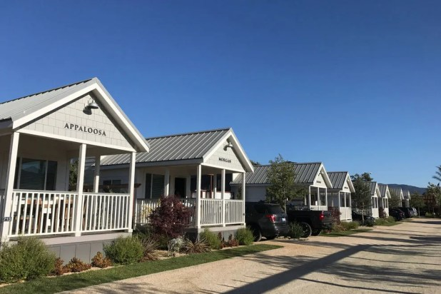 Adorable cottages at Santa Ynez Ranch at Flying Flags
