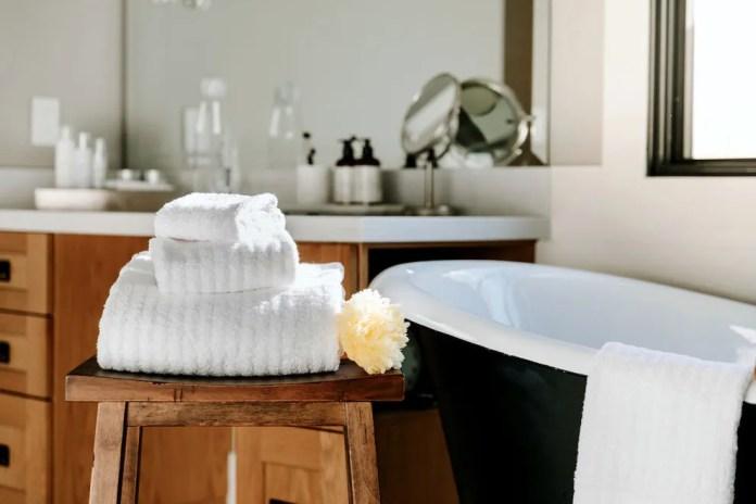 Fairmont bath linens