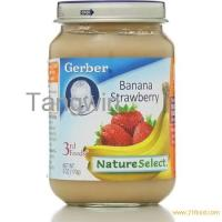 Gerber 3rd Foods Baby Food, Banana Strawberry, Crawler