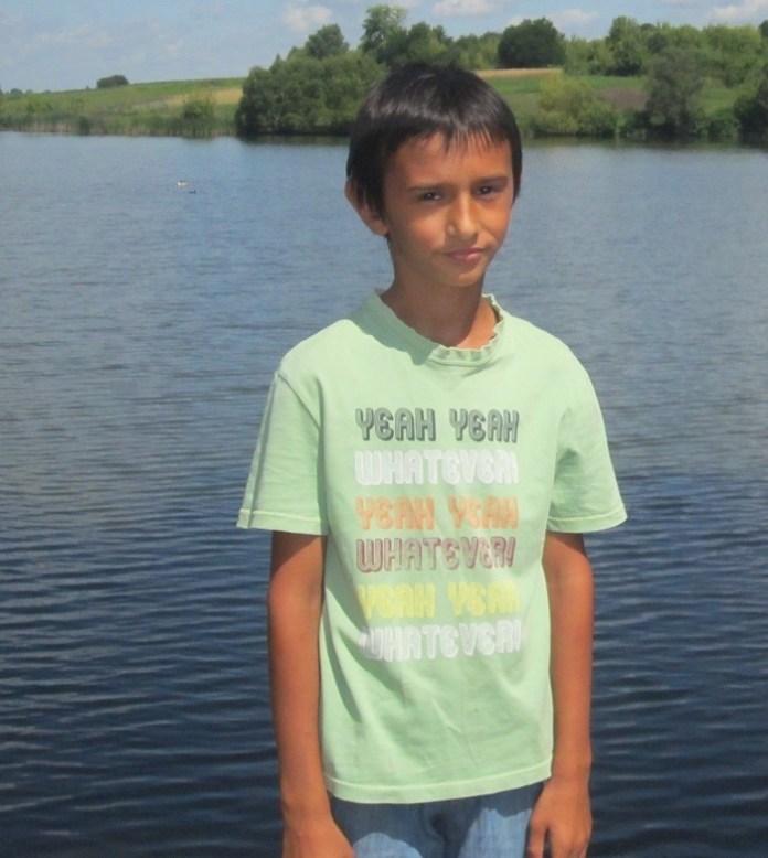 Ярослав Макуха біля ставка, де розгорталися події