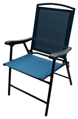 patio folding chair covers for gliders chairs fs blue sling