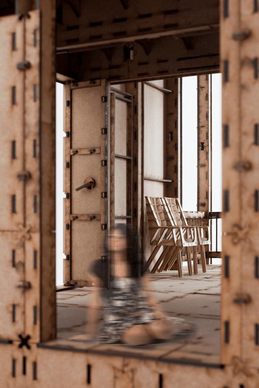 Archdaily_012-cnc-study-house-haiti-1to10-interior