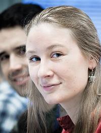 MSc European Forestry student Helene Koch, Belgium