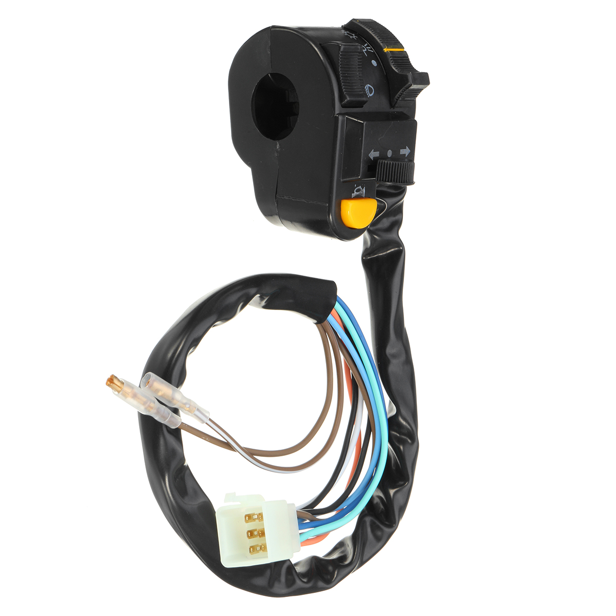 headlight switch motorcycle msd street fire wiring diagram accessories 7 8inch 22mm left handlebar horn