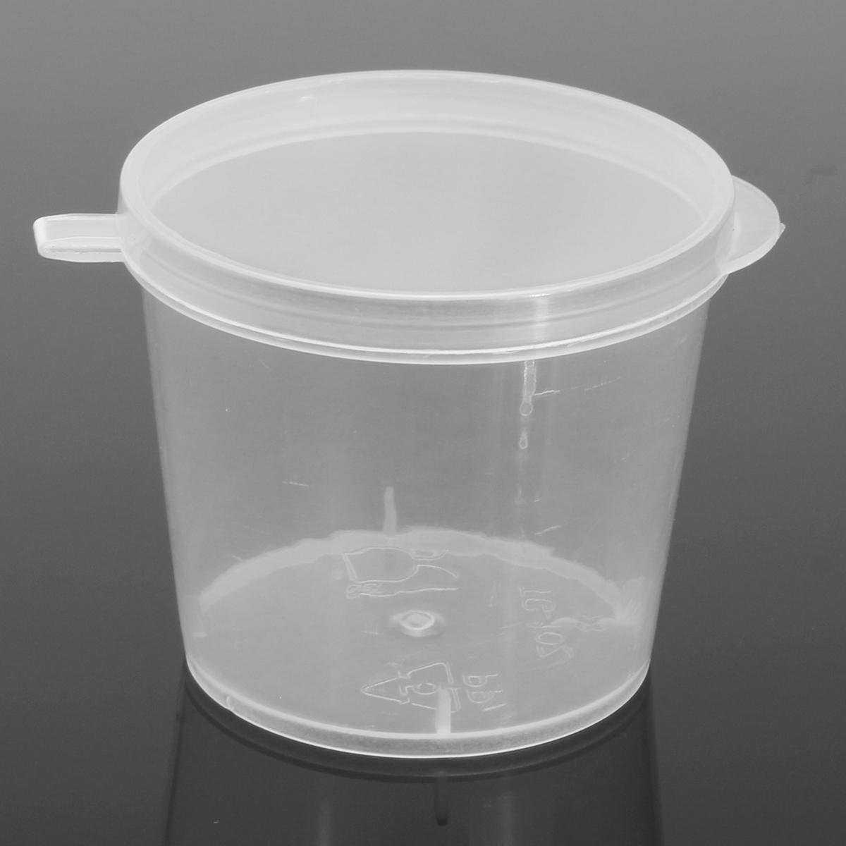 Sample 7 Ml Plastic Pots Lids