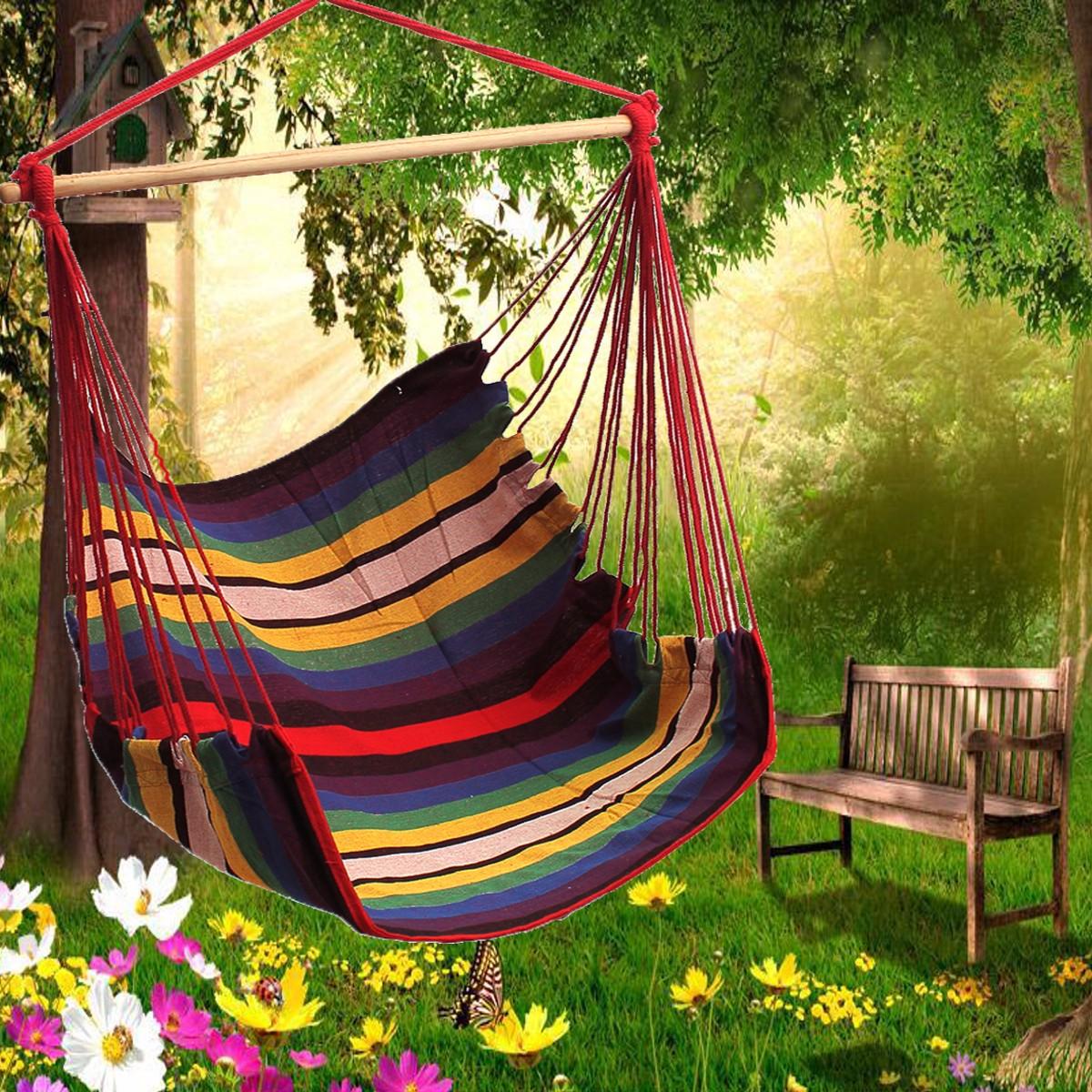 Garden Patio Hanging Thicken Hammock Chair Indoor Outdo