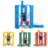 Mini DIY Assembled Desktop 3D Printer 100*100mm Printing Size Support Off-line 1.75mm 0.4mm Nozzle