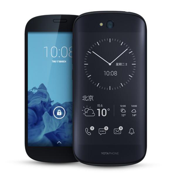 banggood Yotaphone 2 Snapdragon 801 MSM8974AA 2.26GHz 4コア BLACK(ブラック)