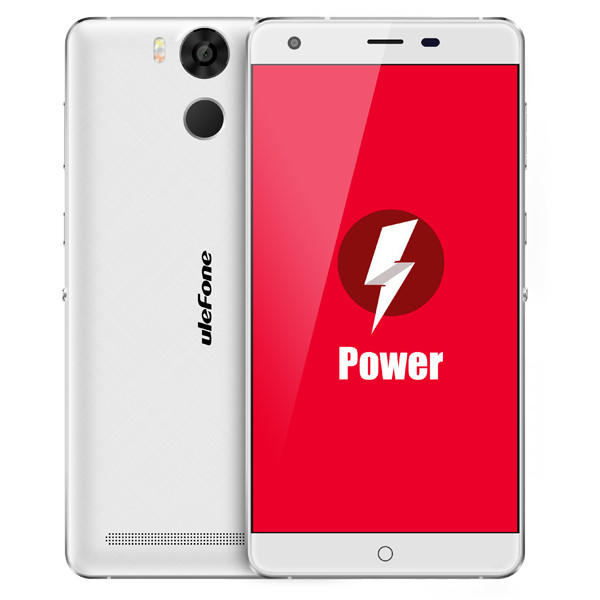 banggood Ulefone Power MTK6753 1.3GHz 8コア WHITE(ホワイト)