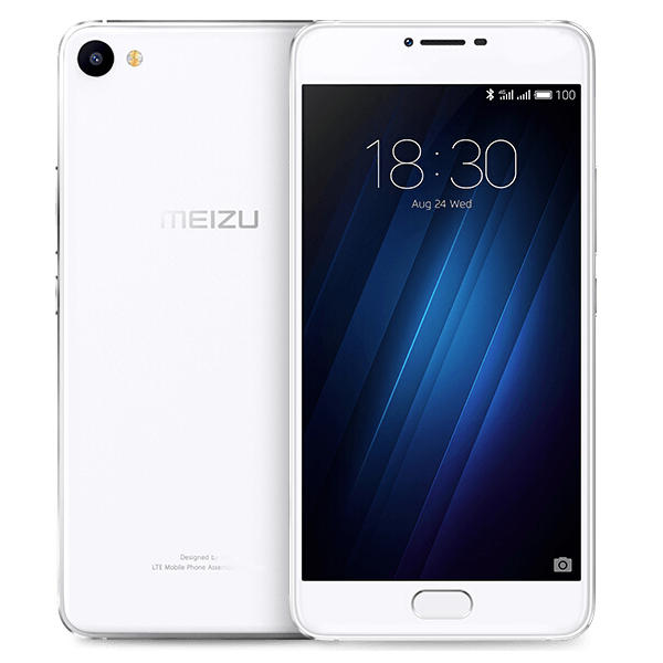 banggood MEIZU U20 MTK6755 Helio P10 1.8GHz 8コア WHITE(ホワイト)