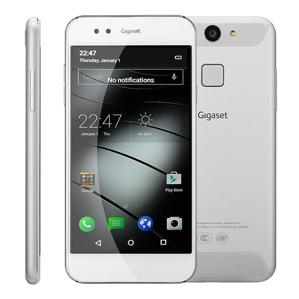 banggood GIGASET ME PURE Snapdragon 616 MSM8939v2 1.5GHz 8コア WHITE(ホワイト)