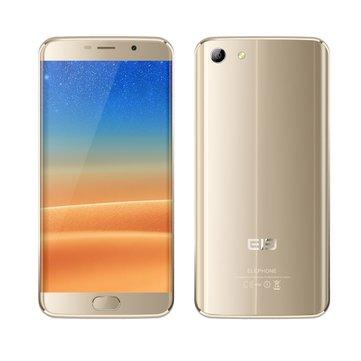 Elephone S7 5.5 inch Fingerprint 2GB RAM 16GB ROM Helio X20 Deca Core 4G Smartphone Gold