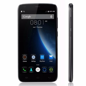 DOOGEE T6 5.5-inch 6250mAh Big Bttery Quick Charge MT6735 Quad-core 4G Smartphone