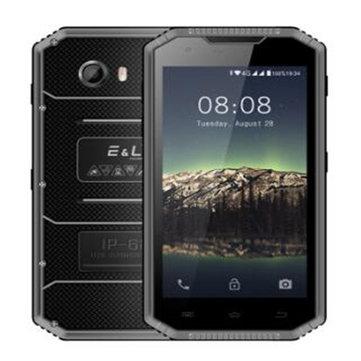 E&L W7S 5.0 Inch IP68 Waterproof 2GB RAM 16GB ROM MTK6737 Quad Core 1.3GHz 4G Smartphone
