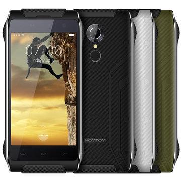 Homtom HT20 4.7 Inch IP68 Waterproof 2GB RAM 16GB ROM MT6737 4G Smartphone