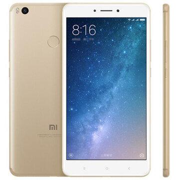 Xiaomi Mi MAX 2 6.44 inch 5300mAh 4GB RAM 64GB ROM Snapdragon 625 Octa Core 4G Smartphone Gold