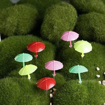 mini beach umbrella micro landscape