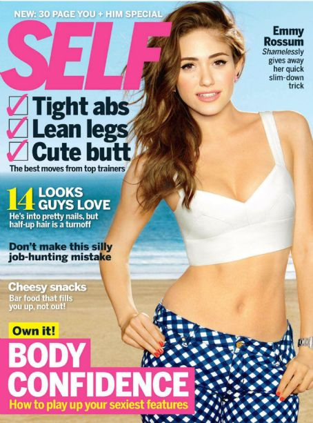 Emmy Rossum - Self Magazine Cover [United States] (February 2013)