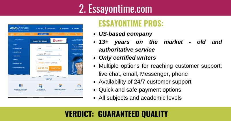 Best Essay Writing Service Reviews \u261b Essay Service Reviews ...