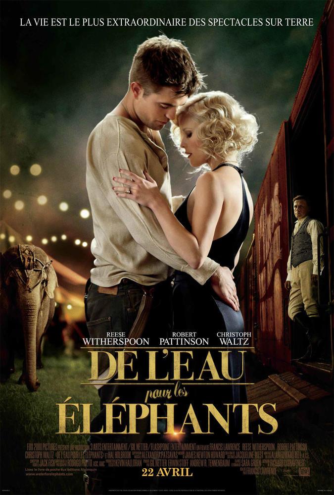 Film De L Eau Pour Les éléphants : éléphants, L'EAU, ÉLÉPHANTS, (2011), Cinoche.com