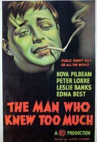 L'homme Qui En Savait Trop : l'homme, savait, L'HOMME, SAVAIT, (1934), Cinoche.com