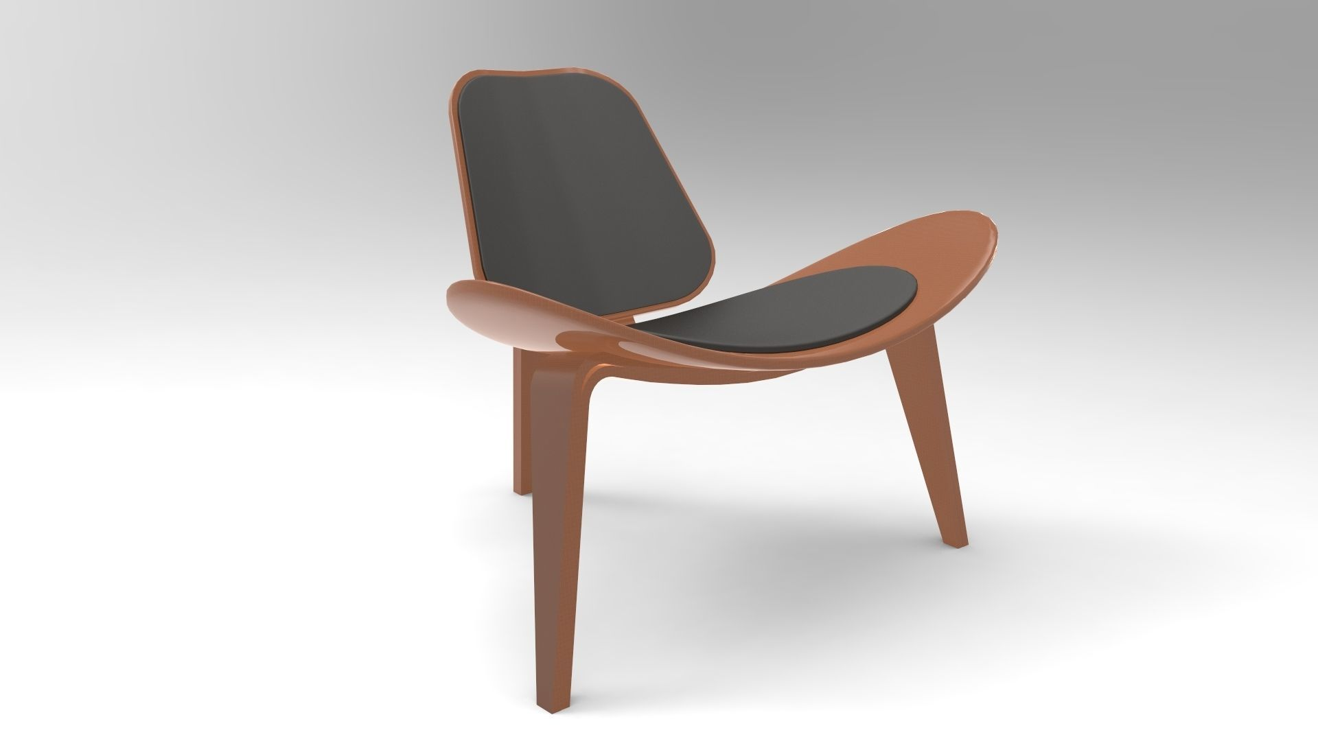 Scandinavian Chair Scandinavian Chair 3d Model 3d Model