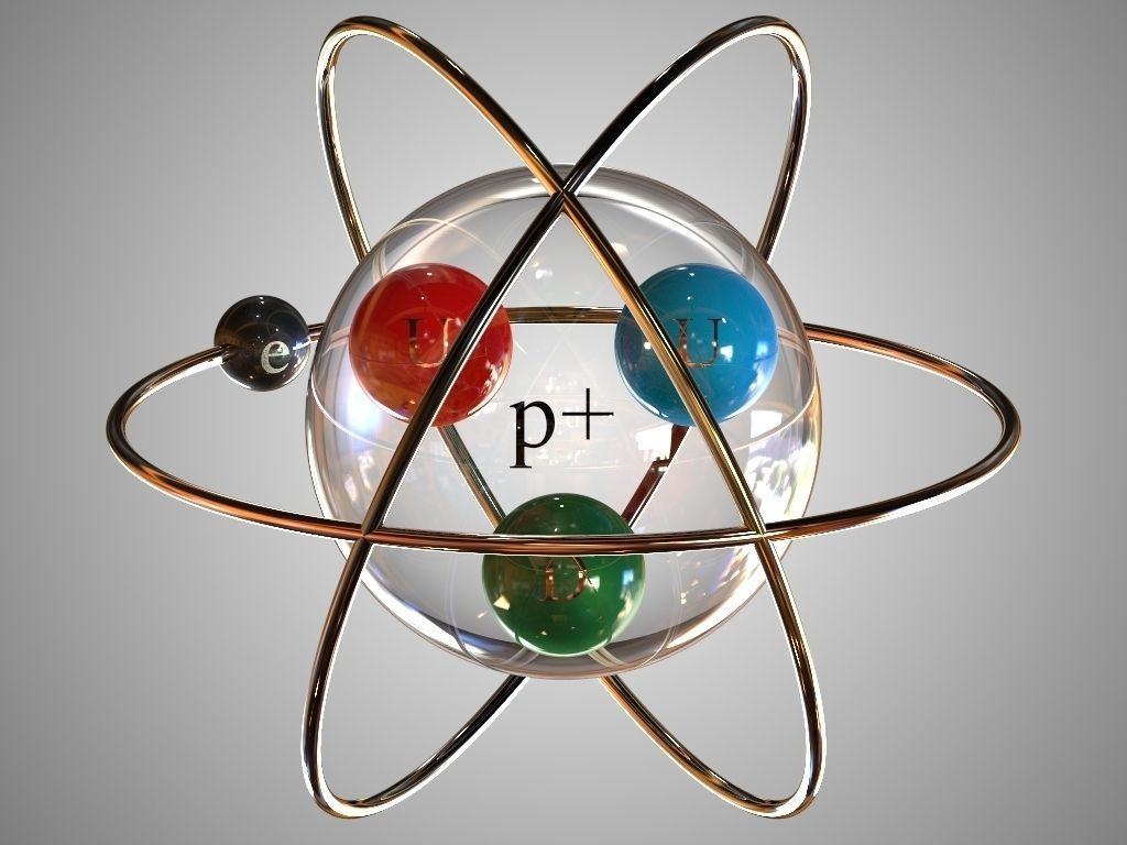 hight resolution of hydrogen atom model project pictures