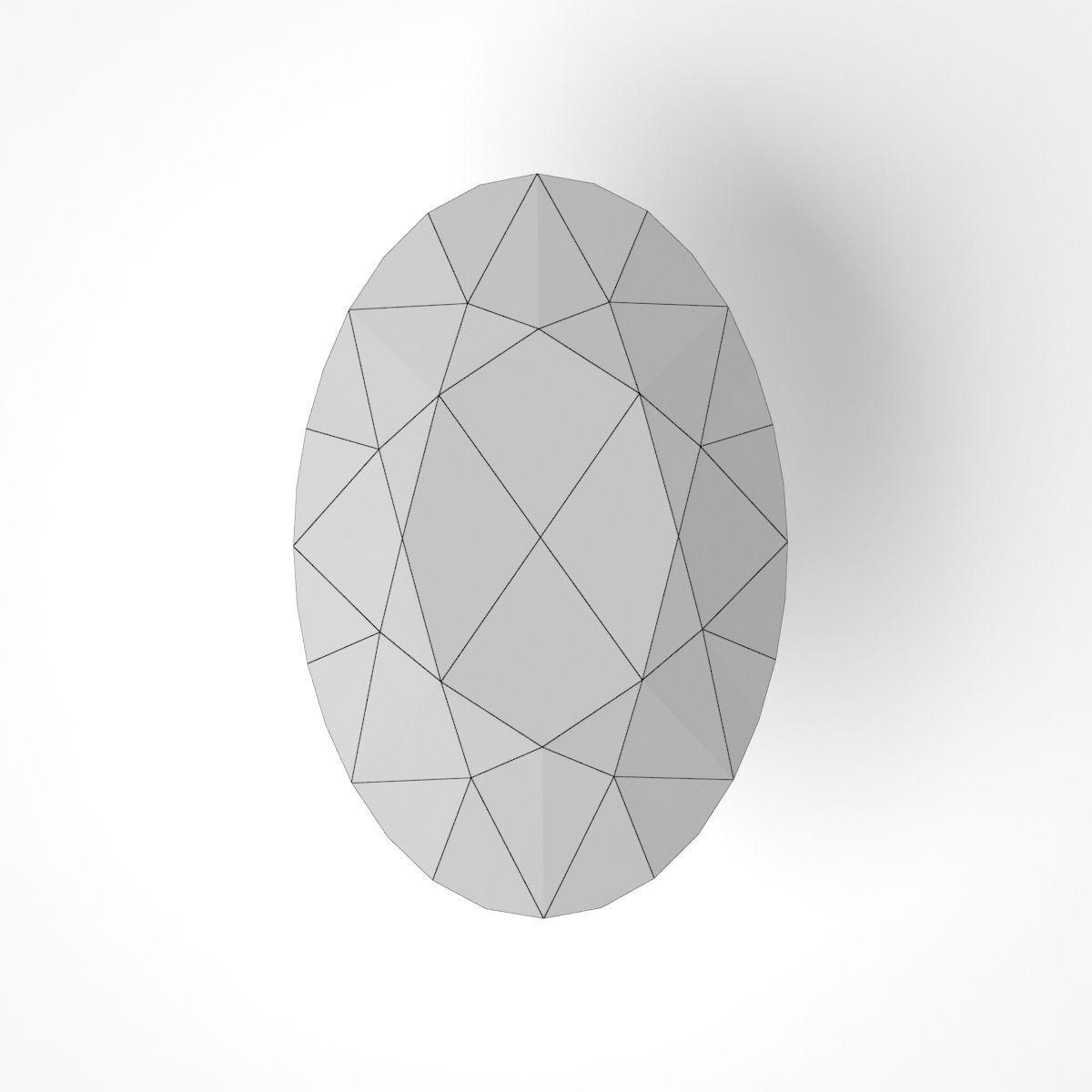 Diamond Shapes 3d Model Max Obj