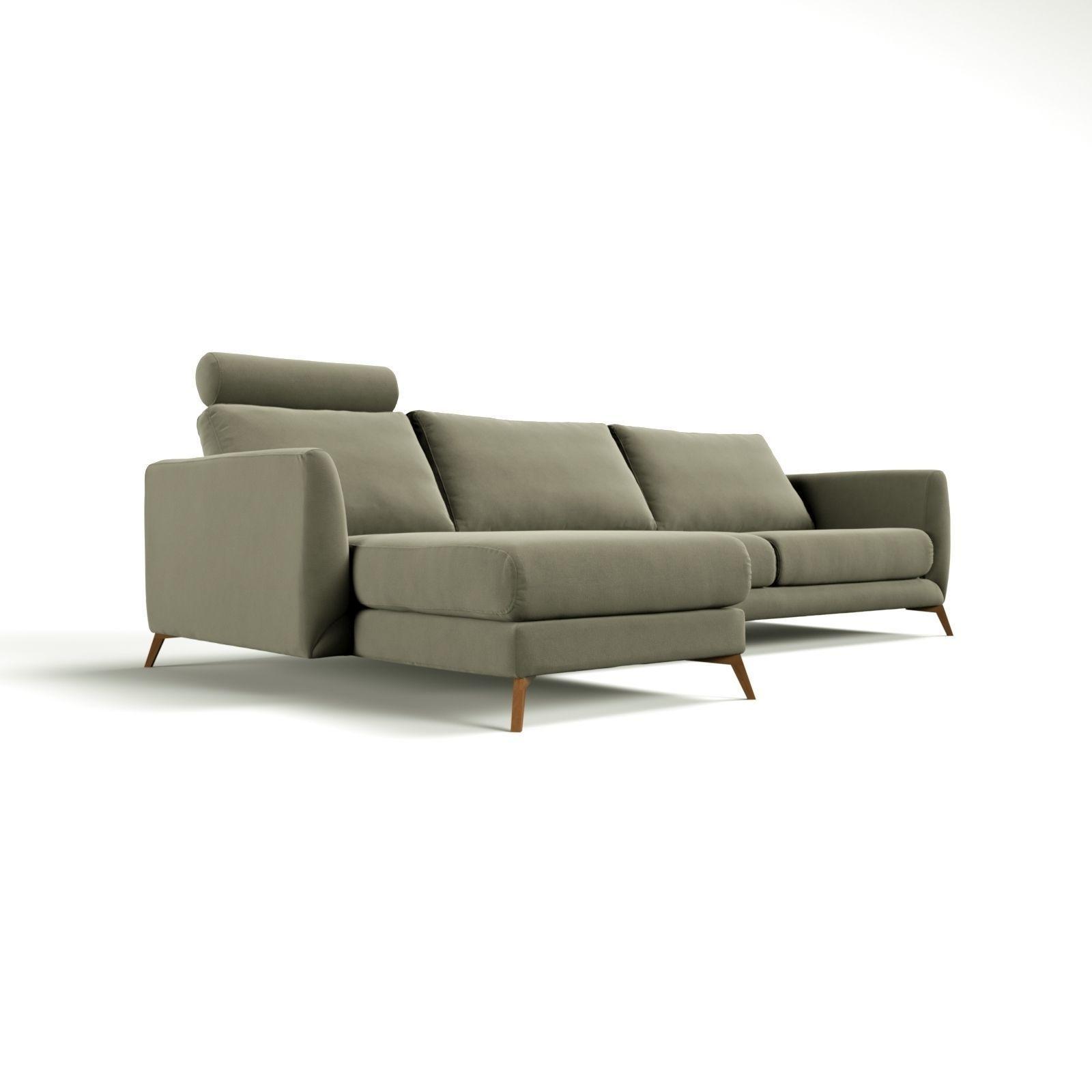 BoConcept Fargo Sofa 3D Model MAX  CGTradercom