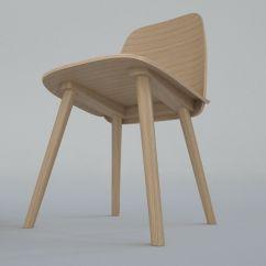 Nerd Chair Muuto Blue Sling Patio 3d Model Cgtrader Max Obj Mtl 3ds Fbx 3