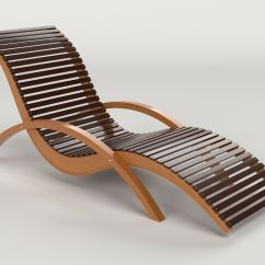 Deck Chair Images 12 Chairs Nyc Lounge Outdoor Wood Patio 3d Model Obj Mtl