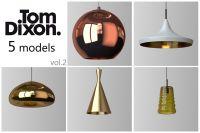 TOM DIXON lighting set 2 3D Model MAX OBJ | CGTrader.com