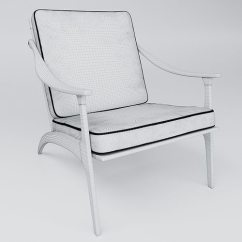 Leanback Lounger Chairs Mens Valet Chair Australia Lean Back Lounge 3d Cgtrader Model Max Obj Mtl Fbx 5