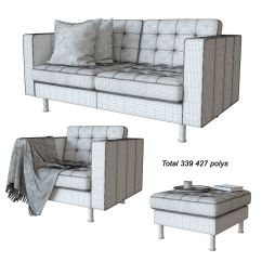 Sofa Chair Ikea Medical Office In Egypt 3d Model Banquette Landscrona Cgtrader Max Obj Mtl 5