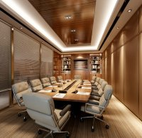Modern conference room 3D