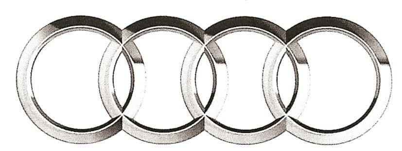AUDI symbol 1 free 3D Model STL SLDPRT SLDASM SLDDRW