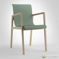 Hallway Chair 403 3D Model MAX OBJ 3DS FBX | CGTrader.com